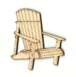 Adirondack Chair - Laser Cut Wood Shape Bch12 Craft Supply