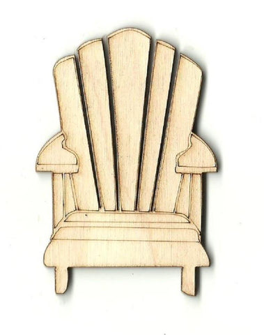Adirondack Chair - Laser Cut Wood Shape Bch13 Craft Supply