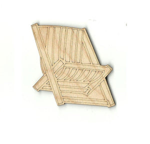 Adirondack Chair - Laser Cut Wood Shape Bch9 Craft Supply