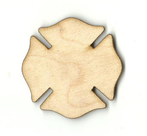 Badge - Laser Cut Wood Shape Bdg13 Craft Supply