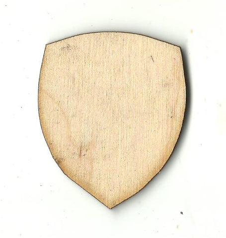 Badge - Laser Cut Wood Shape BDG27