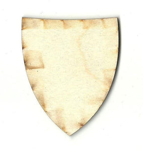 Badge Shield - Laser Cut Wood Shape Bdg9 Craft Supply
