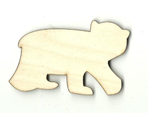 Bear - Laser Cut Wood Shape BER13