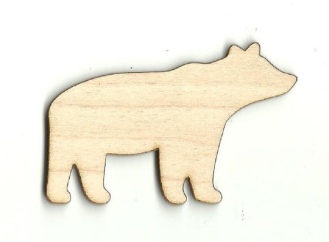 Bear - Laser Cut Wood Shape BER15