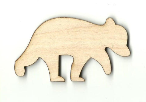Bear - Laser Cut Wood Shape BER16