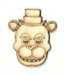 Bear - Laser Cut Wood Shape Ber17 Craft Supply