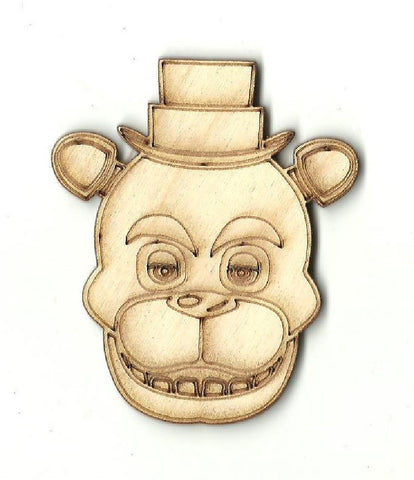 Bear - Laser Cut Wood Shape BER17