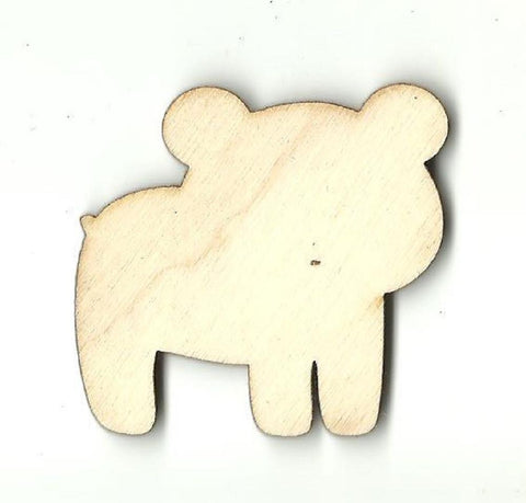 Bear - Laser Cut Wood Shape Ber20 Craft Supply