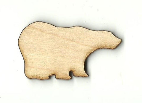 Bear - Laser Cut Wood Shape BER22