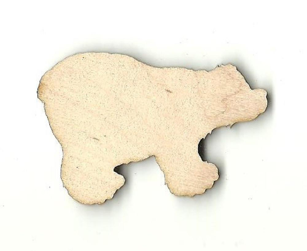 Bear - Laser Cut Wood Shape Ber24 Craft Supply