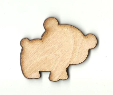 Bear - Laser Cut Wood Shape BER29