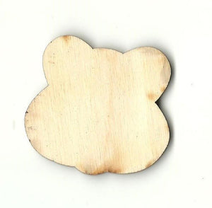 Bear - Laser Cut Wood Shape Ber30 Craft Supply