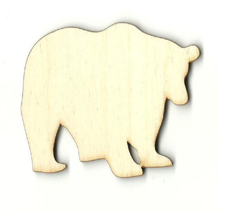 Bear - Laser Cut Wood Shape BER35