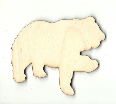 Bear - Laser Cut Wood Shape BER36