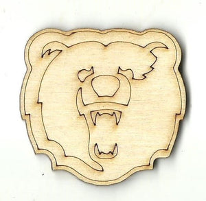Bear - Laser Cut Wood Shape Ber60 Craft Supply