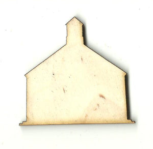 Church School - Laser Cut Wood Shape BLD109