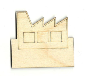Factory - Laser Cut Wood Shape Bld25 Craft Supply