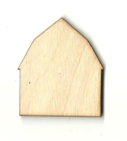 Barn - Laser Cut Wood Shape Bld39 Craft Supply