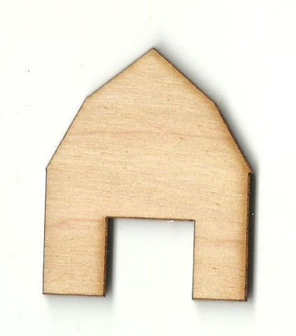 Barn - Laser Cut Wood Shape BLD45