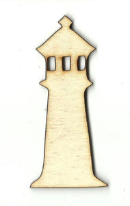 Lighthouse - Laser Cut Wood Shape Bld57 Craft Supply