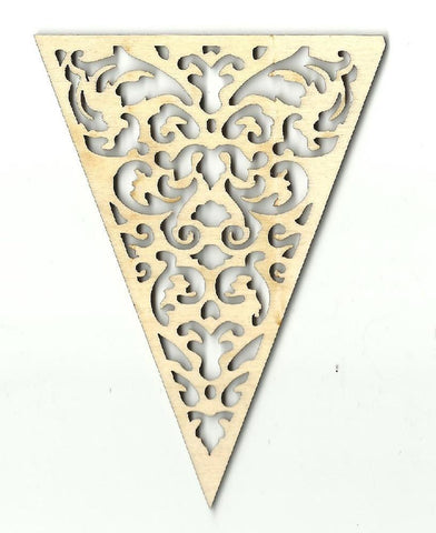 Banner - Laser Cut Wood Shape Bnr12 Craft Supply