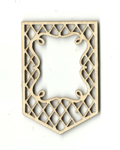 Banner - Laser Cut Wood Shape BNR13