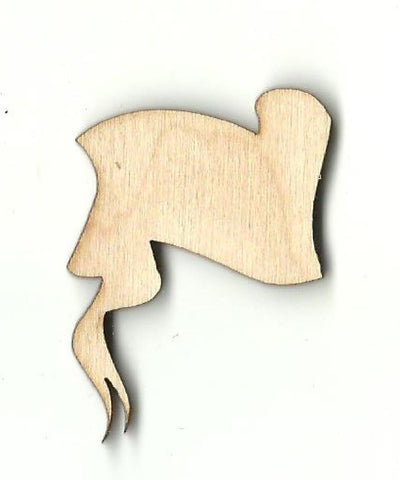 Banner  - Laser Cut Wood Shape BNR19