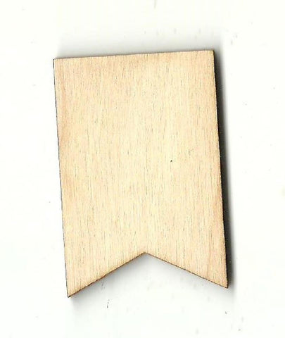Banner - Laser Cut Wood Shape Bnr22 Craft Supply