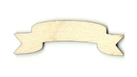 Banner - Laser Cut Wood Shape BNR4