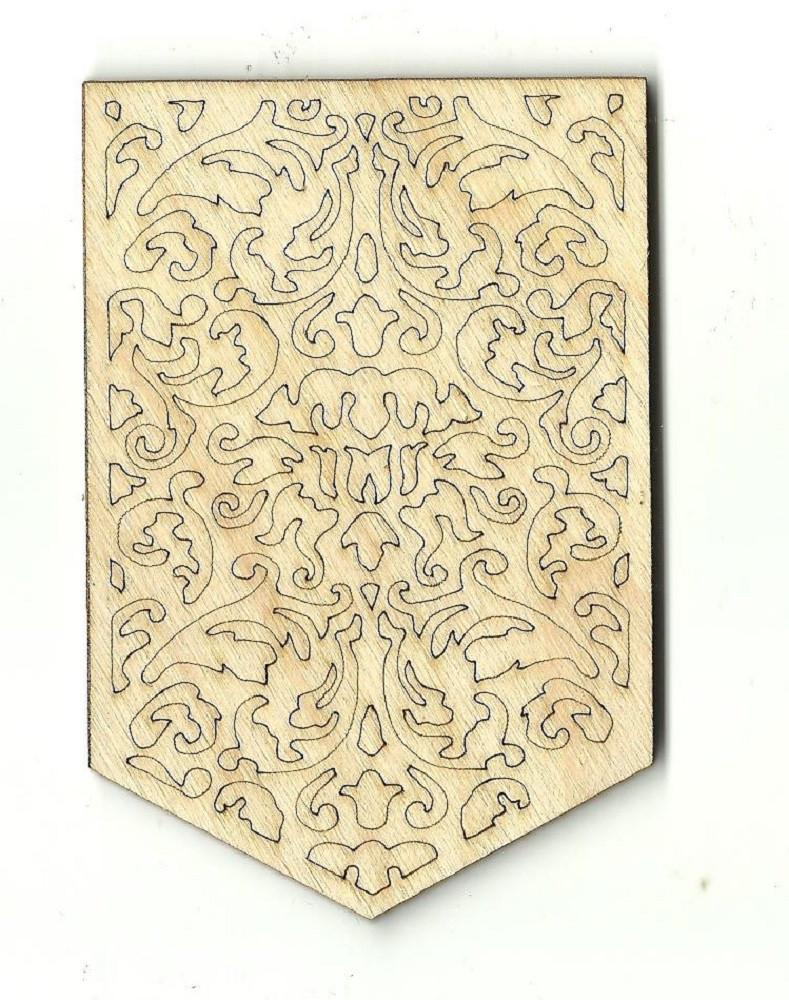 Banner - Laser Cut Wood Shape Bnr9 Craft Supply