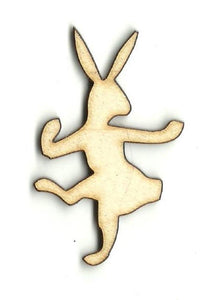 Bunny Rabbit - Laser Cut Wood Shape Bny1 Craft Supply