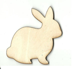 Bunny Rabbit - Laser Cut Wood Shape Bny29 Craft Supply