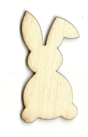Bunny Rabbit - Laser Cut Wood Shape Bny34 Craft Supply