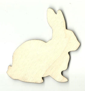 Bunny Rabbit - Laser Cut Wood Shape Bny35 Craft Supply