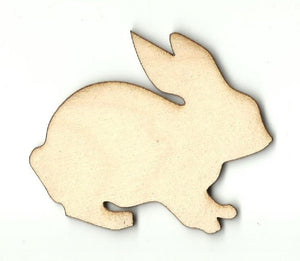 Bunny Rabbit - Laser Cut Wood Shape Bny39 Craft Supply