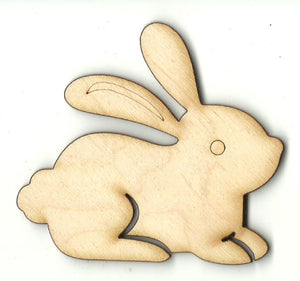 Bunny - Laser Cut Wood Shape BNY55