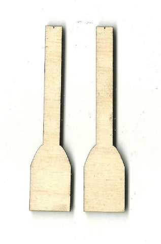 Boat Oars - Laser Cut Wood Shape Bot5 Craft Supply
