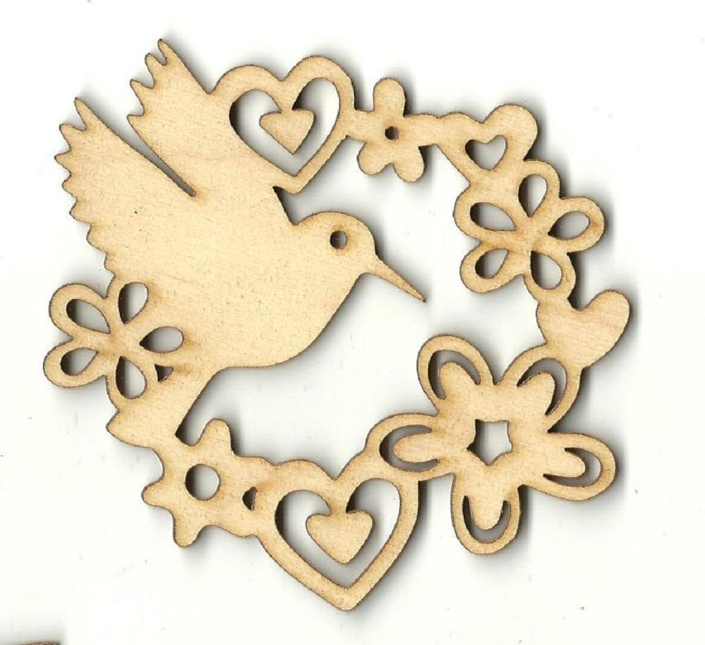 Bird - Laser Cut Wood Shape Brd144 Craft Supply