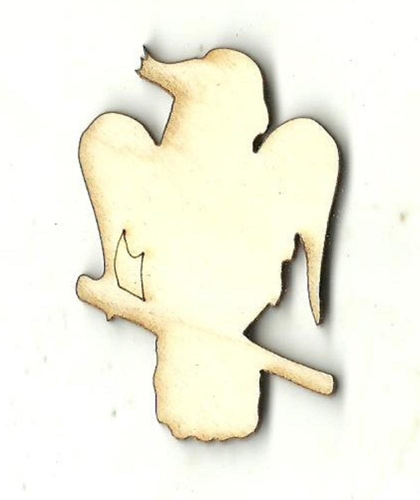 Cockatoo Bird - Laser Cut Wood Shape Brd184 Craft Supply