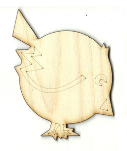 Bird - Laser Cut Wood Shape BRD218