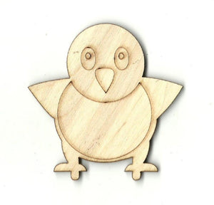 Baby Bird - Laser Cut Wood Shape Brd25 Craft Supply