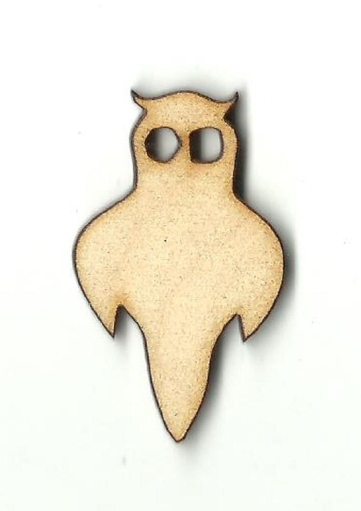 Owl - Laser Cut Wood Shape Brd104 Craft Supply