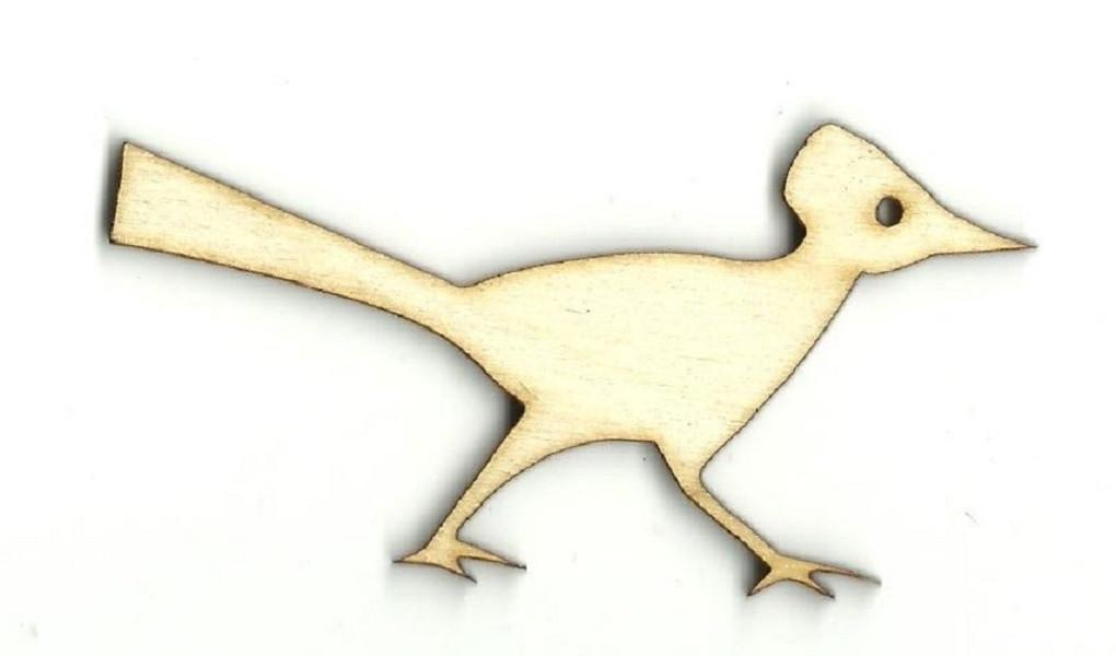 Roadrunner - Laser Cut Wood Shape Brd2 Craft Supply