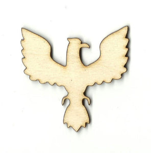 Eagle - Laser Cut Wood Shape Brd97 Craft Supply