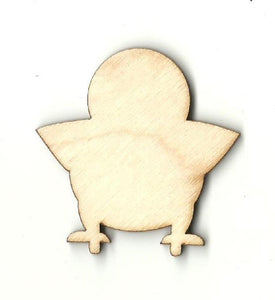 Baby Bird Chick - Laser Cut Wood Shape Brd81 Craft Supply