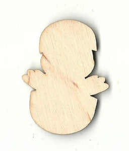 Baby Bird In Egg - Laser Cut Wood Shape Brd82 Craft Supply