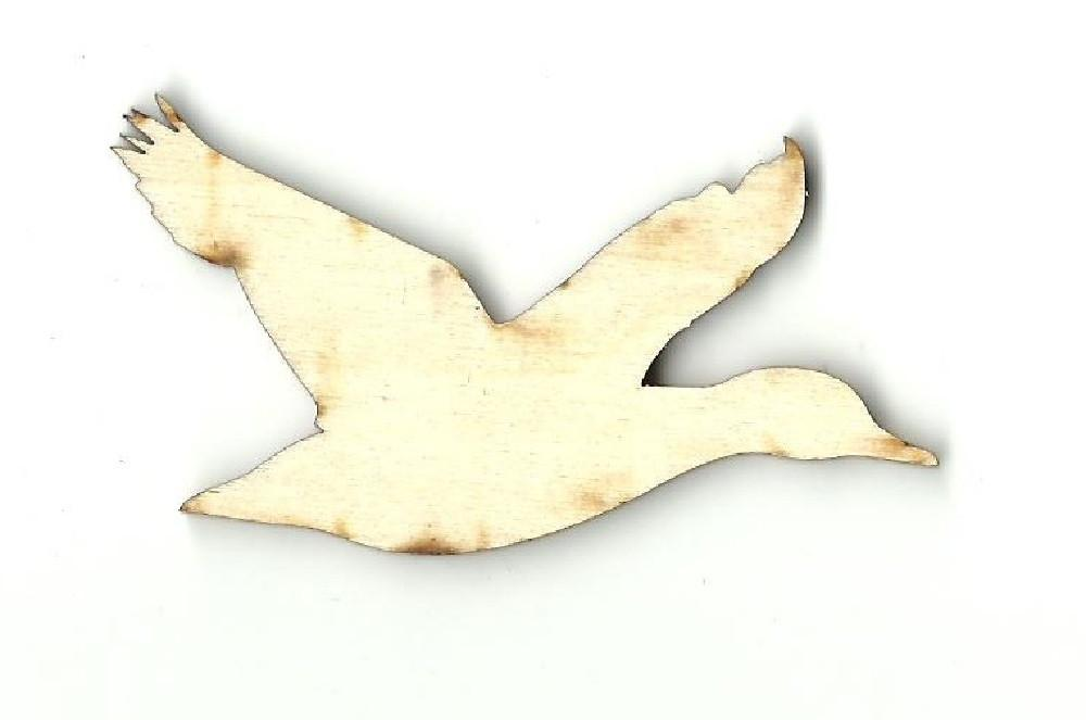 Flying Bird - Laser Cut Wood Shape Brd92 Craft Supply
