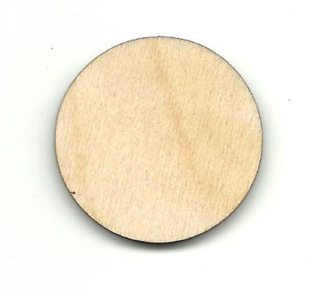 Circle - Laser Cut Wood Shape Bsc19 Craft Supply