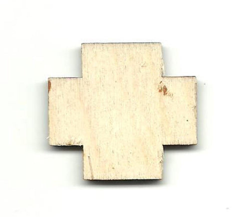 Cross - Laser Cut Wood Shape Bsc21 Craft Supply