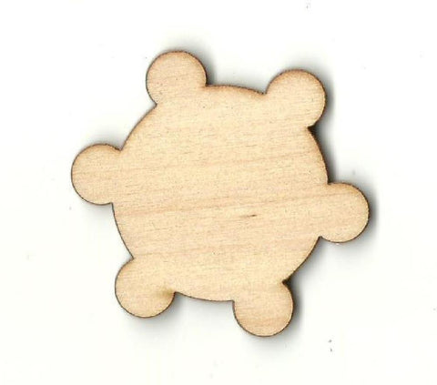 Bumpy Circle - Laser Cut Wood Shape Bsc22 Craft Supply
